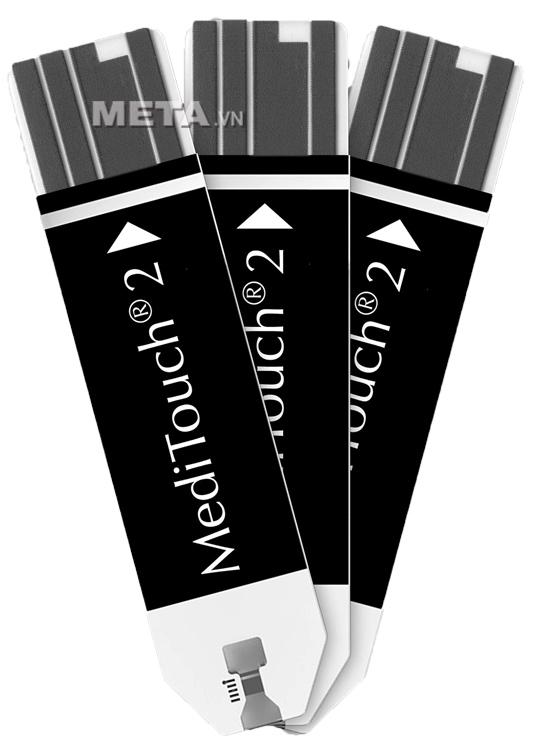 Que thử của máy đo đường huyết Medisana Meditouch 2 gồm 50 que