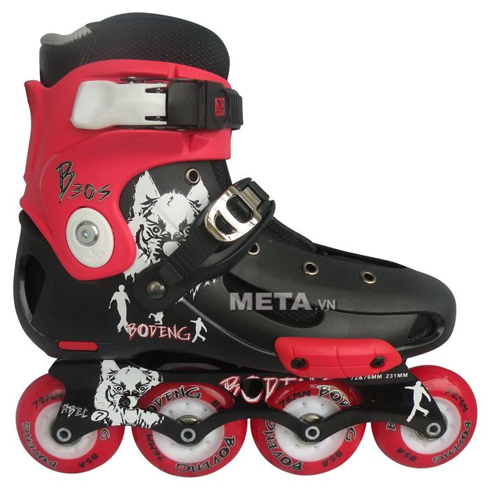 Giầy trượt patin BoDeng B30S màu đỏ