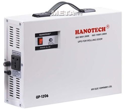 Bộ lưu điện cửa cuốn Hanotech UP1206 là thiết bị không thể thiếu khi sử dụng cửa cuốn