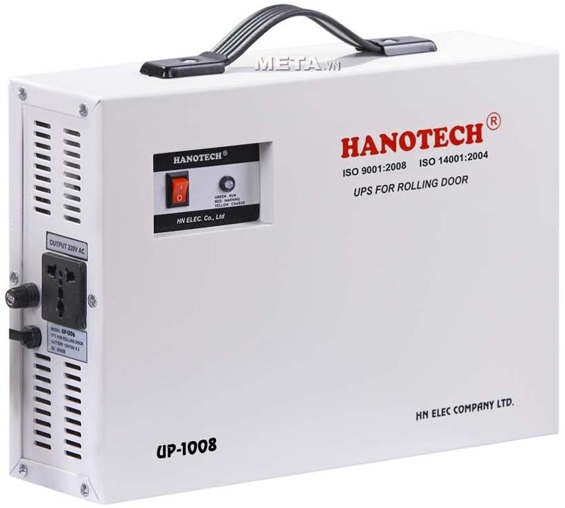 Bộ lưu điện cửa cuốn Hanotech UP1008 thích hợp cho các motor có sức nâng dưới 800kg
