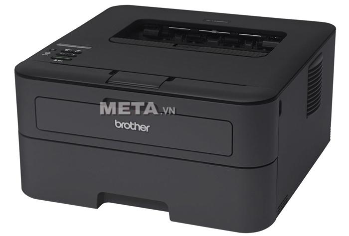 Máy in laser đơn sắc tốc độ cao Brother HL-L2366DW với chức năng in đảo mặt tự động và kết nối mạng.