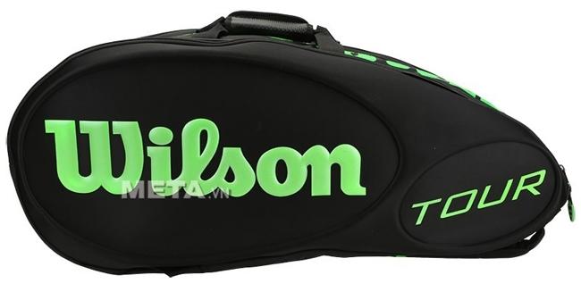 Túi tennis Wilson TOUR MOLDED 15 cây WRZ842515 là mẫu thiết kế đi kèm với dòng vợt BLADE