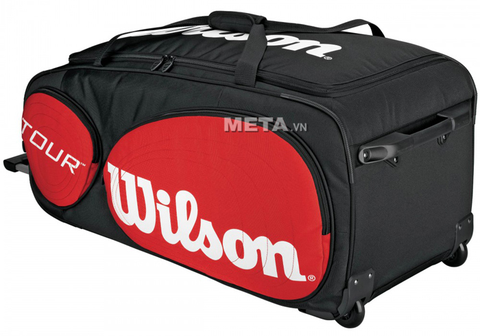 Túi tennis Wilson TOUR TRAVELER WHEELS WRZ843294
