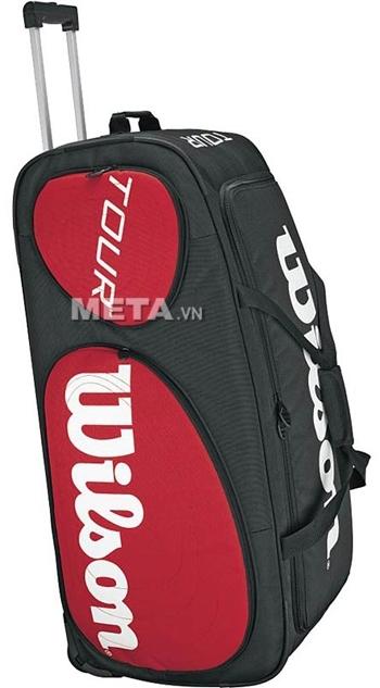 Túi tennis Wilson TOUR TRAVELER WHEELS WRZ843294 làm từ chất liệu cao cấp