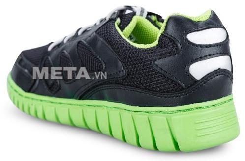 Giầy thể thao nữ Prowin TL1404 - Đen xanh lá được làm bằng da tổng hợp nên dễ dàng lau khô và giặt sạch.