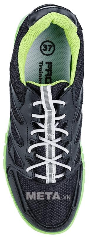 Giầy thể thao nữ Prowin TL1404 - Đen xanh lá thiết kế bên trong vô cùng êm ái và ôm chân.