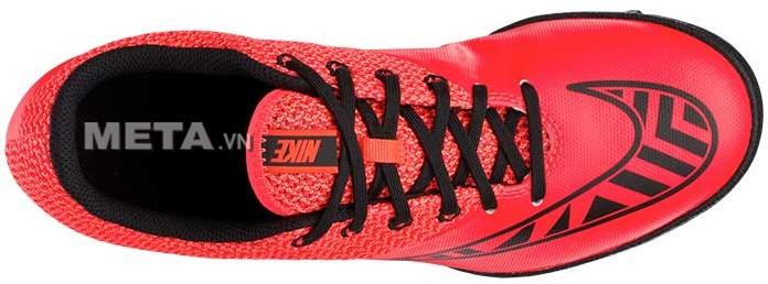 Giầy bóng đá Nike Mercurialx Pro TF 725245-608 thiết kế bên trong có lớp lót êm ái