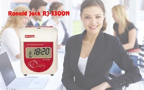Hình ảnh máy chấm công thẻ giấy Ronald Jack RJ-3300N.
