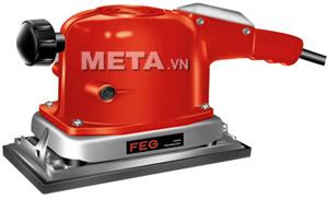 Máy chà nhám mô tơ FEG EG-388 có màu sắc đỏ nổi bật.