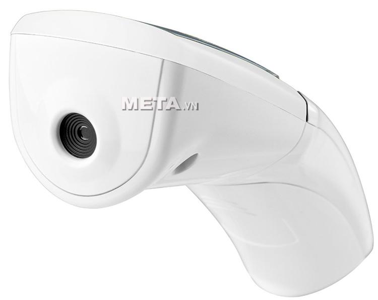 Nhiệt kế đo trán Medisana TM65E sử dụng cảm biến hồng ngoại đo không chạm, an toàn và chính xác.