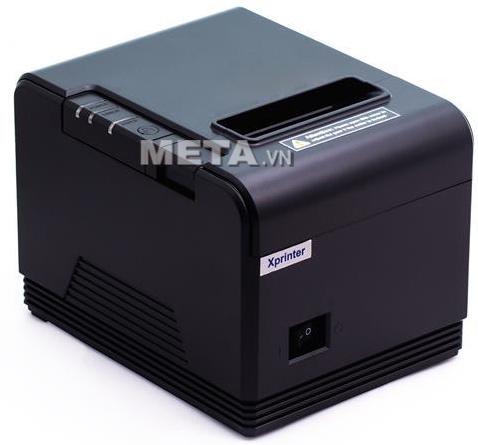 Máy in hóa đơn XPrinter XP-Q80i dùng để in ra bill tính tiền cho khách hàng.