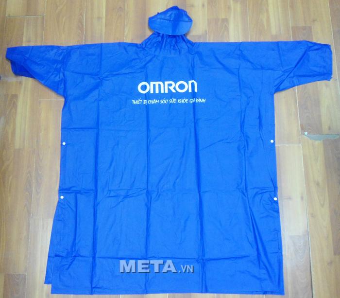 Áo mưa Omron có kiểu dáng đẹp, tiện sử dụng bảo vệ bạn khỏi những cơn mưa.