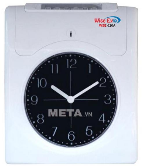 Máy chấm công thẻ giấy Wise Eye 620A dùng cho nhà xưởng, xí nghiệp.