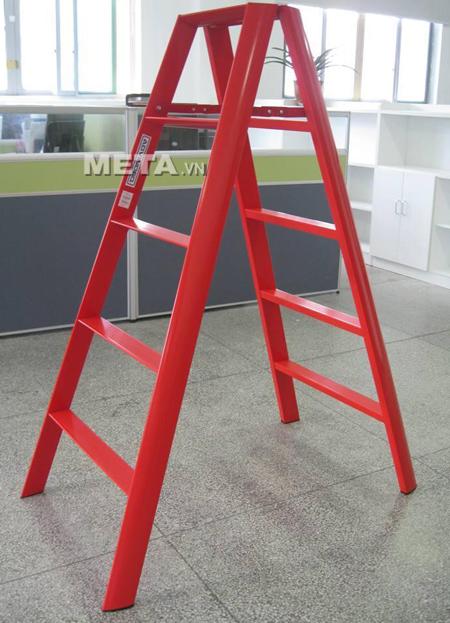 Thang nhôm chữ A Đài Loan 10 bậc Advindeq AV305 có trọng lượng nhẹ
