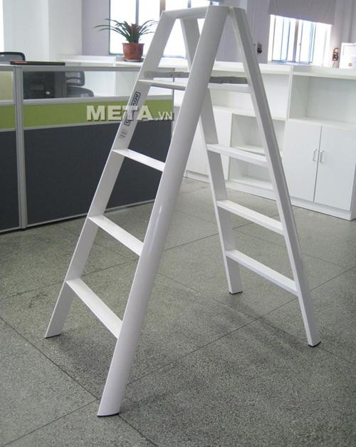 Thang nhôm chữ A Đài Loan 10 bậc Advindeq AV305 thiết kế tiện dụng