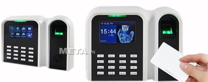 Máy chấm công vân tay, thẻ cảm ứng GIGATA T9