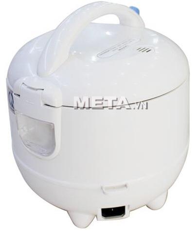 Vị trí cắm dây điện của nồi cơm điện Midea MR-CM06SB 0.6 lít