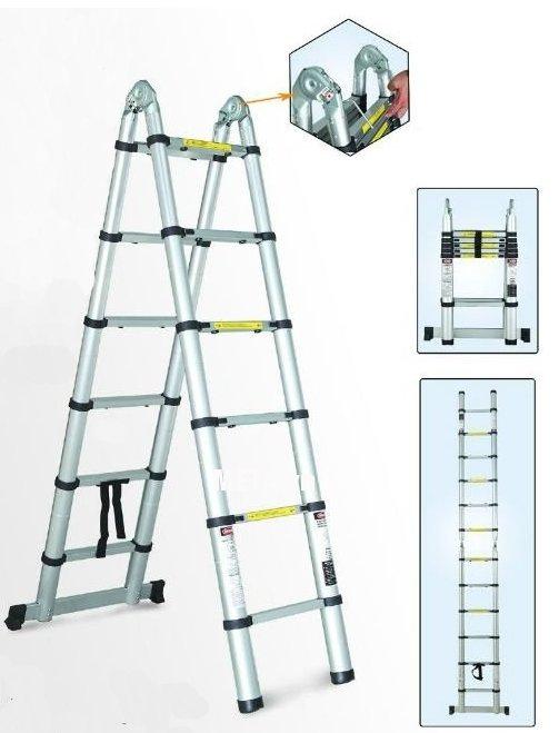 Thang nhôm rút gọn đa năng Pro PR-38AI thiết kế tiện dụng, an toàn cho người dùng