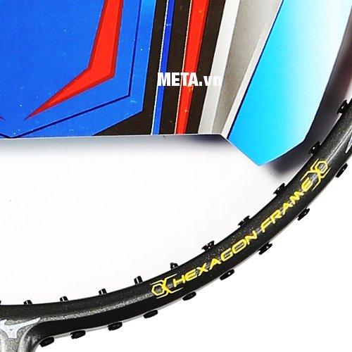 Thiết kế làm tăng tốc độ đập của vợt cầu lông Mizuno Carbosonic 75