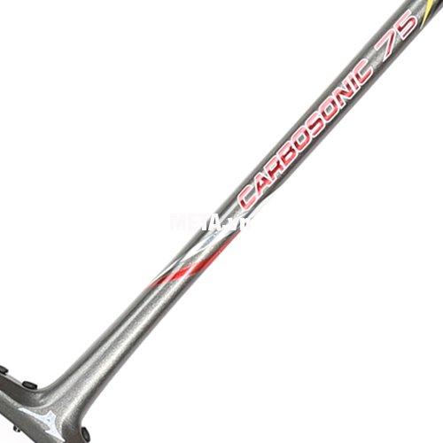 Cấu tạo mỏng, nhẹ, giảm trọng lượng của vợt cầu lông Mizuno Carbosonic 75