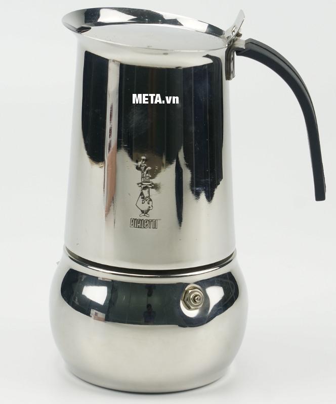 Ấm pha cà phê Bialetti Kitty 10TZ Nero BCM-1715 thích hợp sử dụng cho gia đình đông người hay tại văn phòng.
