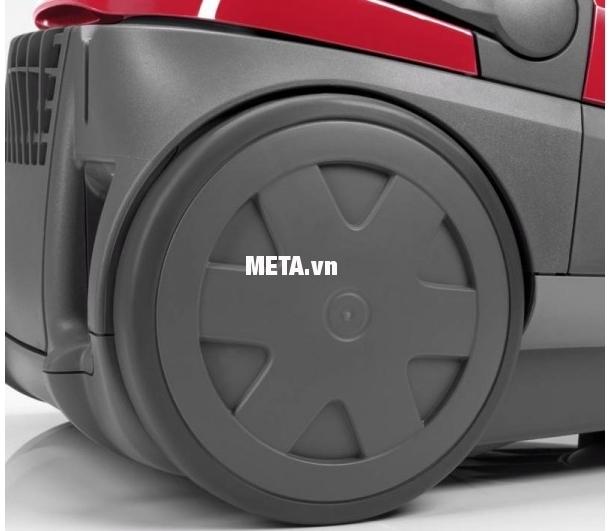 Máy hút bụi Zelmer ZVC425HM dễ dàng di chuyển bằng bánh xe