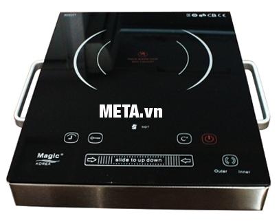 Bếp hồng ngoại Magic A38 new giúp nấu nướng nhanh chóng, tiết kiệm điện năng.