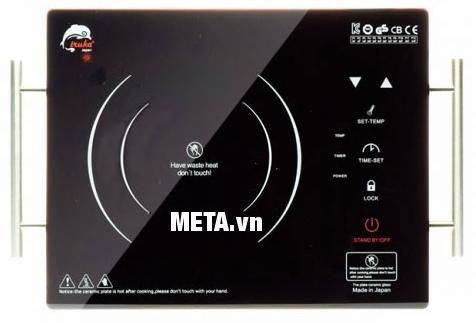 Bếp hồng ngoại Iruka I-77 dễ dàng sử dụng với phím cảm ứng siêu nhạy.
