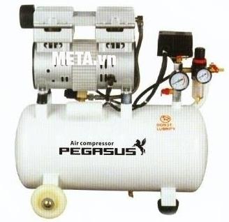 Máy nén khí không dầu, giảm âm Pegasus TM-OF750-35L (1HP) tiết kiệm điện năng.