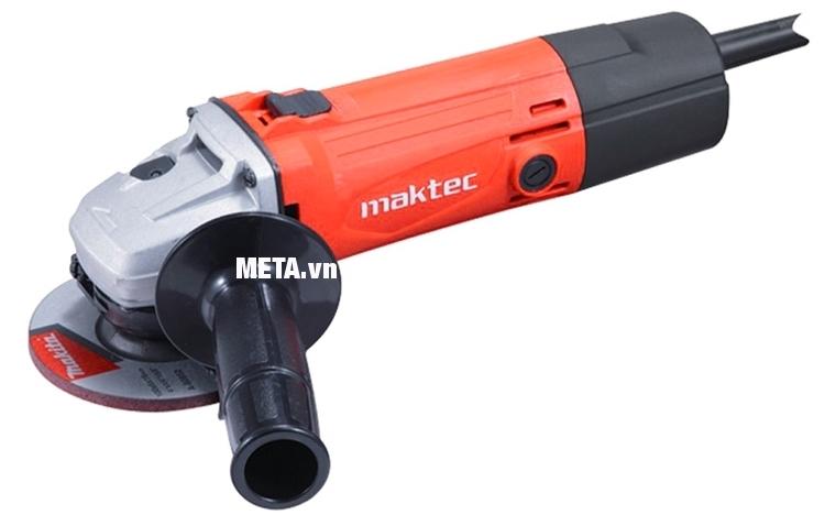 Với máy mài góc Maktec MT961, bạn chỉ cần trang bị thêm đá mài là có thể sử dụng thoải mái.