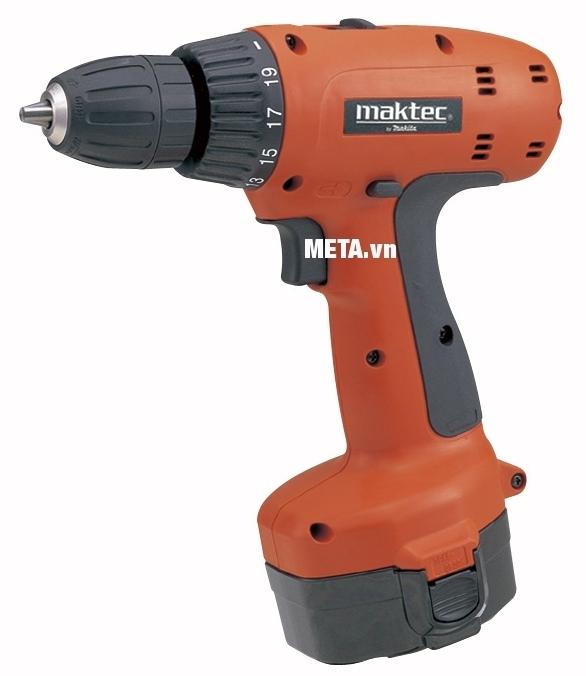 Máy khoan, vặn vít chạy pin Maktec MT064SK2N dễ sử dụng