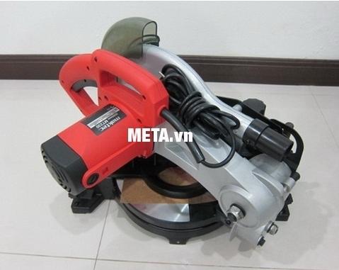 Máy cưa đa góc Maktec MT230 có thân máy chắc chắn, siêu bền.