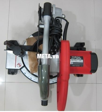 Máy cưa đa góc Maktec MT230 gọn nhẹ, dễ dàng cất giữ.