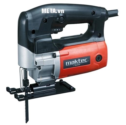 Máy cưa lọng Maktec MT430 cho khả năng cưa gỗ, cưa thép vô cùng nhanh chóng.