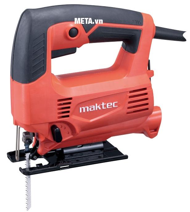 Máy cưa lọng Maktec MT431 nhỏ gọn, dễ di chuyển.