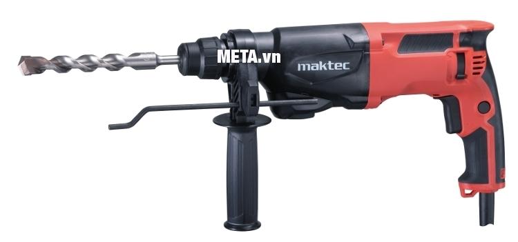 Máy khoan động lực Maktec MT870 thiết kế tay cầm khoa học dễ cầm nắm và thao tác.