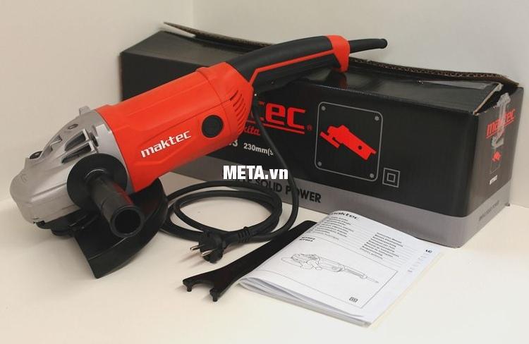 Máy mài góc Maktec MT903 có vỏ hộp bằng carton