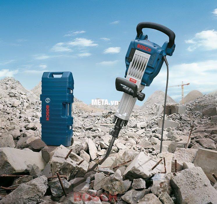 Máy khoan đục bê tông Bosch GSH 16-30 cho hiệu quả làm việc cao