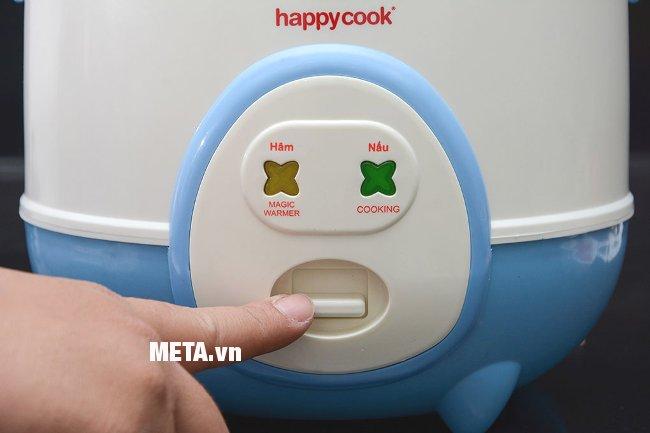 Nồi cơm điện Happy Cook HC-60 (0,6 lít) nút ấn cơ tiện dụng