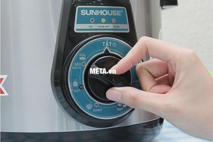 Các chức năng của nồi áp suất điện đa năng Sunhouse SHD1552