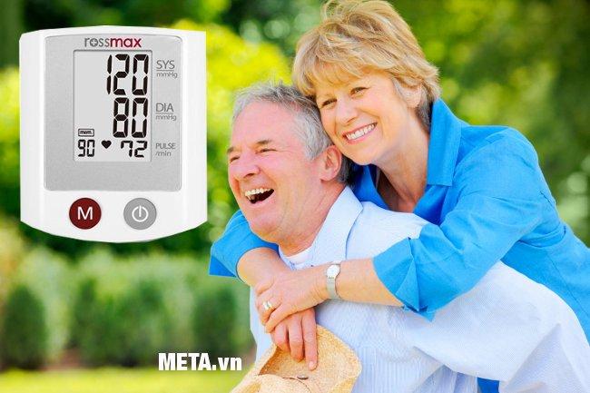 Hình ảnh máy đo huyết áp cổ tay Rossmax S150