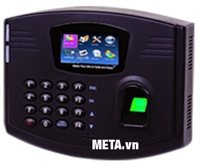 Máy chấm công Timetrex TT-B1 giúp quản lý nhân sự dễ dàng.