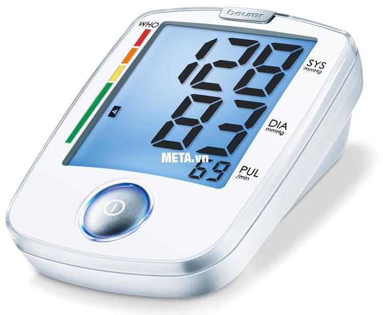 Máy đo huyết áp bắp tay Beurer BM44 cho kết quả chính xác tuyệt đối.