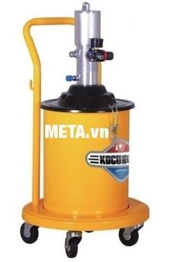 Máy bơm mỡ khí nén Kocu GZ-150 dung tích thùng chứa 20 lít