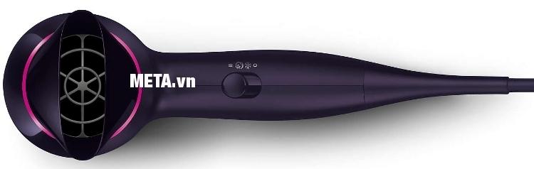 Máy sấy tóc Philips BHD002 cho thời gian sấy nhanh và cho kết quả suôn mượt hơn.