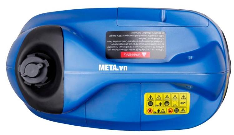 Máy phát điện biến tần kỹ thuật số Fujihaia GY1500 có màu xanh sang trọng.