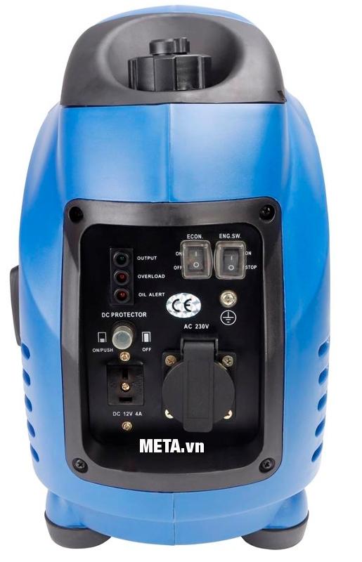Máy phát điện biến tần kỹ thuật số Fujihaia GY1500 hoạt động liên tục, bền bỉ trong nhiều giờ.