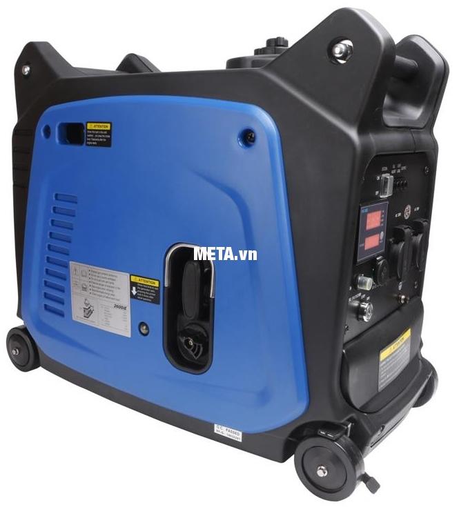 Máy phát điện biến tần kỹ thuật số Fujihaia GY2600E dung tích bình xăng lớn sử dụng liên tục trong nhiều giờ đồng hồ.