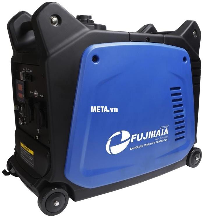 Máy phát điện biến tần kỹ thuật số Fujihaia GY2600E có độ ồn siêu êm.