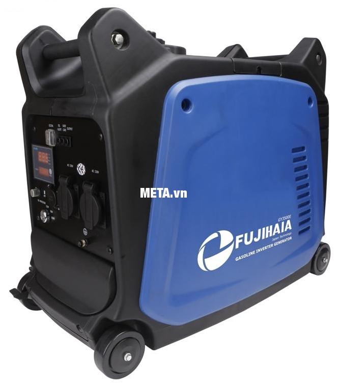 Máy phát điện biến tần kỹ thuật số Fujihaia GY3500E hoạt động êm ái, chống rung, chống ồn.